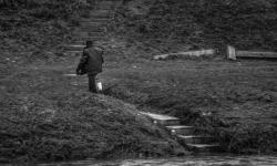 O przelewaniu rzeki wiadrem - plener RSF- Użhorod 2017